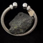 White Gold Cable Bracelet
